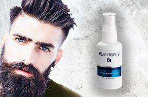 Platinus V для ускорения роста бороды